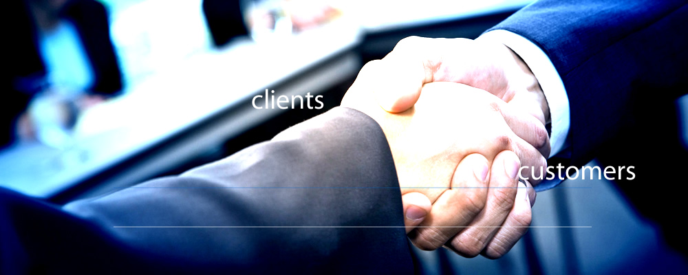 clients, customers, contacts